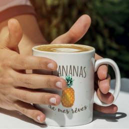 Mug L'Ananas de Mes Rêves