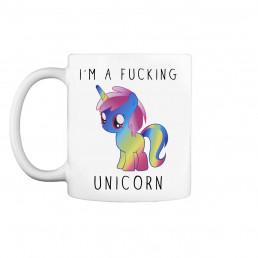 Mug Licorne - I'm a Fucking Unicorn