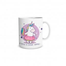 Mug Licorne Je Refuse d'être Normale