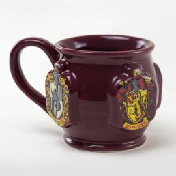 Tasse 3D Harry Potter Poudlard - Blason des 4 Maisons