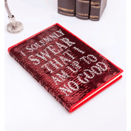Carnet de Notes Harry Potter Sequins Maraudeur