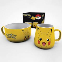Set Petit Déjeuner Pikachu Pokémon