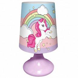 Lampe Boule Veilleuse Licorne Arc-en-Ciel