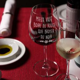 Grand Verre à Vin Citation