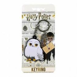 Porte-Clés Harry Potter Chouette Hedwige avec Breloques