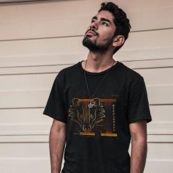 T-Shirt Phosphorescent Harry Potter Poufsouffle