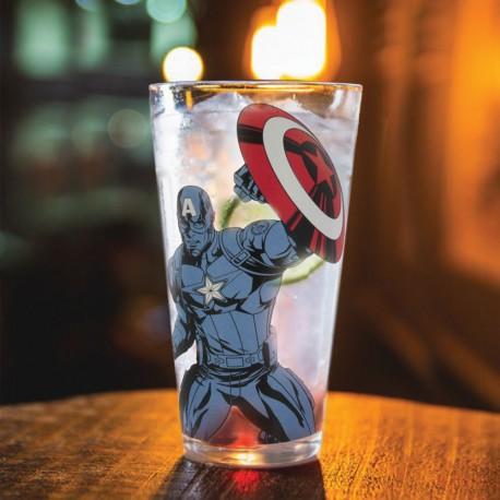 Verre Thermoréactif Captain America Marvel