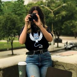 T-Shirt Femme Fairy Tail Happy