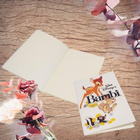 Carnet de Notes Bambi Disney