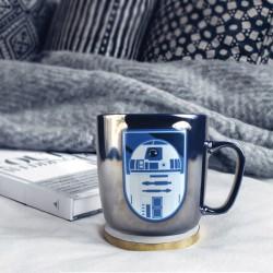 Mug R2D2 Star Wars Effet Métallisé