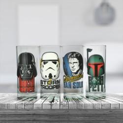 Set de Quatre Verres Star Wars - Portraits Personn