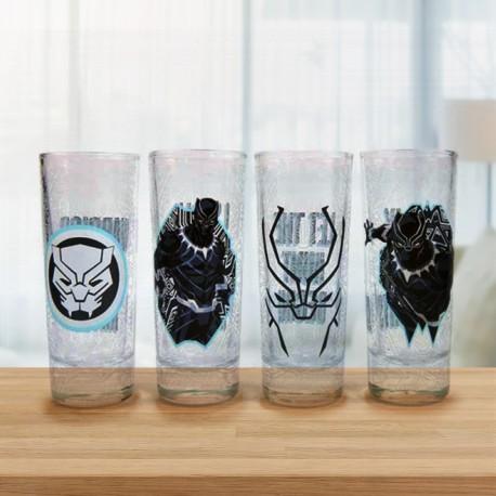 Shooters Marvel Black Panther - Lot de 4