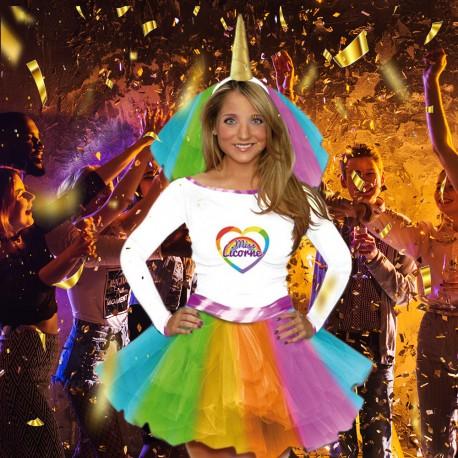 Costume Miss Licorne