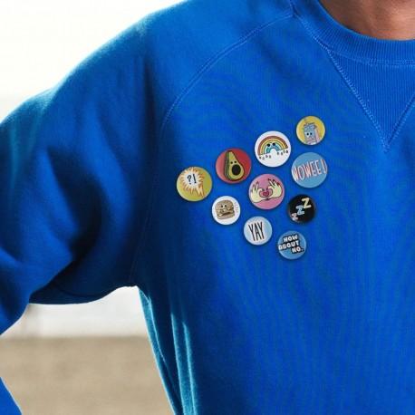Méli-Mélo de Badges Funs - Lot de 10