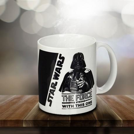 Mug Dark Vador Star Wars - The Force is Strong