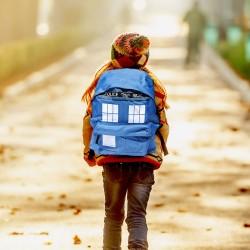 Sac à Dos Tardis Dr Who