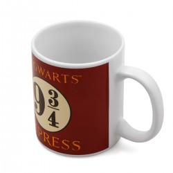Mug Harry Potter Poudlard & Voie Express 9 3/4