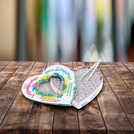 Jeu Corps A Cœur Papillons - Amours Naissants