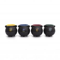 Tasses à Expresso Harry Potter Chaudrons - Lot de 4