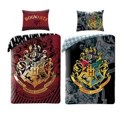 Parure de Lit Harry Potter Blason Poudlard