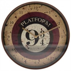 Horloge Harry Potter Quai 9 3/4