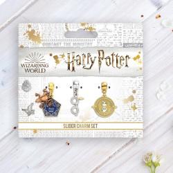Pendentifs Charm Harry Potter - Chocogrenouille, Retourneur de Temps et Lunettes
