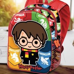 Sac à Dos Harry Potter 3D Chibi