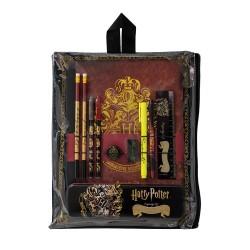 Pochette Papeterie Harry Potter Blason Poudlard Doré