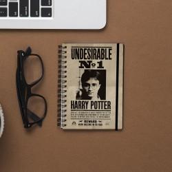 Carnet de Notes Harry Potter - Sirius Black Effet Animé 3D