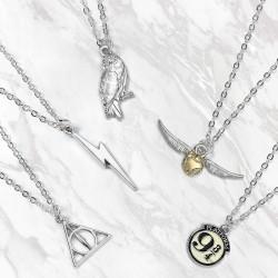 Collier Harry Potter Symboles