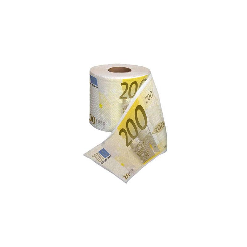 papier toilette 200 euros cadeau fun et insolite sur logeekdesign. Black Bedroom Furniture Sets. Home Design Ideas