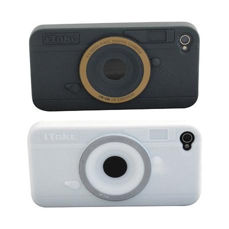 L'étui Photo iTake donne l'apparence d'un appareil photo à votre iPhone… En silicone, il s'adapte parfaitement à votre iPhone et vous permet d'utiliser toutes les fonctionnalités de votre smartphone sans soucis. Il rendra votre iPhone plus attractif !