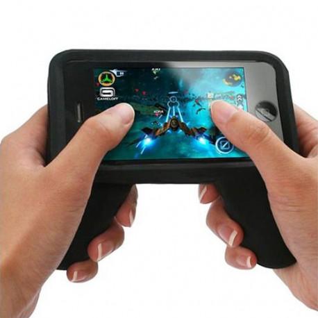 Une coque en forme de manette de jeu pour iPhone