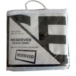 Serviette de Plage Reserved