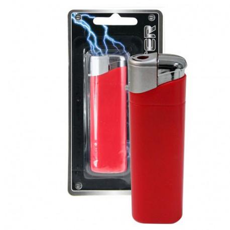 Ce briquet se présente comme un simple briquet rouge... jusqu'à ce que vous vous en serviez ! Prêtez ce briquet à vos amis ou collègues pour allumer leur cigarette et attendez simplement qu'ils l'utilisent... ils vont recevoir un petit choc électrique !