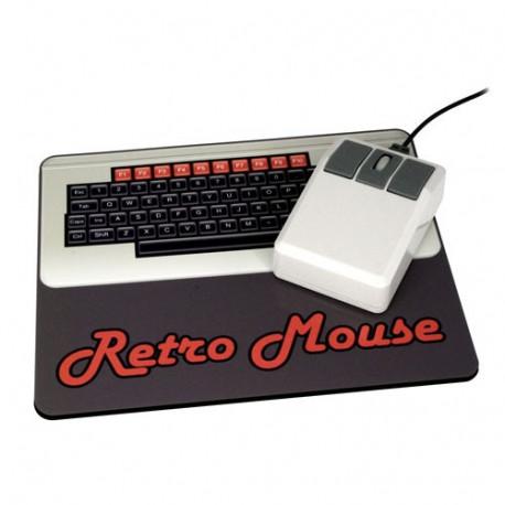 Retournez dans les années 80 avec ce tapis de souris et cette souris au design rétro… Vous allez faire fureur !