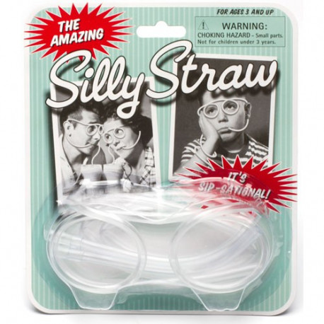 Silly Straw - Lunettes Pailles