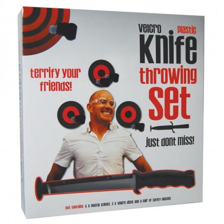 Retrouvez vos sensations avec ce set de lancer de couteaux… en velcro !