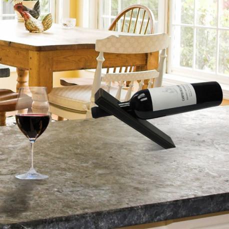 support magique bouteille de vin cadeau design sur. Black Bedroom Furniture Sets. Home Design Ideas