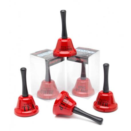 Exprimez vos envies en toute simplicité avec cette petite cloche rouge en métal… Un gadget insolite qui fera rire (jaune) vos amis !