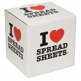 Mug I Love Spreadsheets