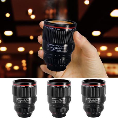 Ces trois petits verres objectifs sont l'idée cadeau insolite du moment ! Ils sont de la taille idéale pour vos expressos ou vos shots… selon l'heure de la journée !