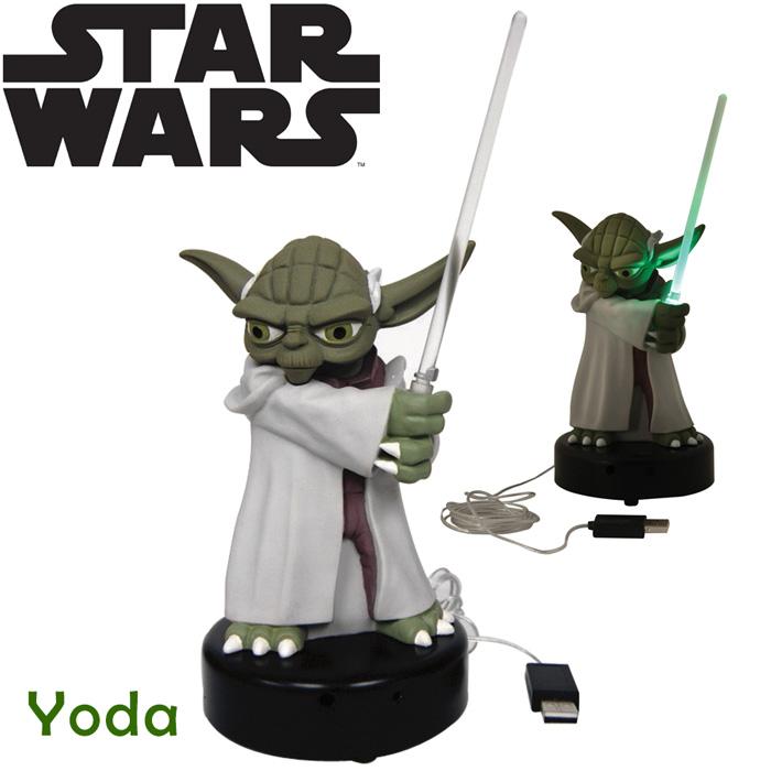 lampe usb yoda star wars cadeau geek sur. Black Bedroom Furniture Sets. Home Design Ideas