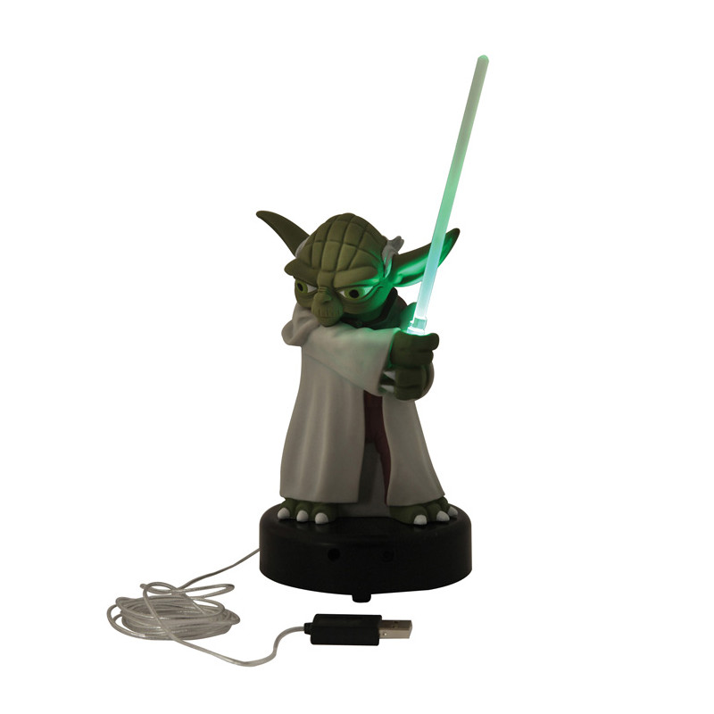 lampe usb yoda star wars cadeau geek sur. Black Bedroom Furniture Sets. Home Design Ideas