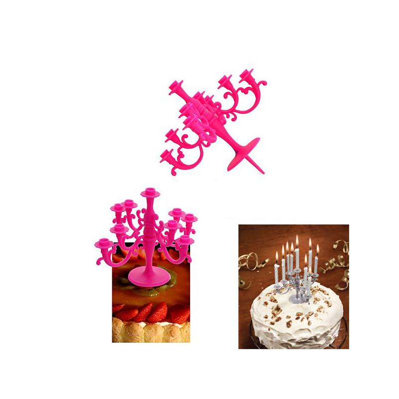 Panier Cadeau Anniversaire : Chandelier pour bougies d anniversaire cadeau