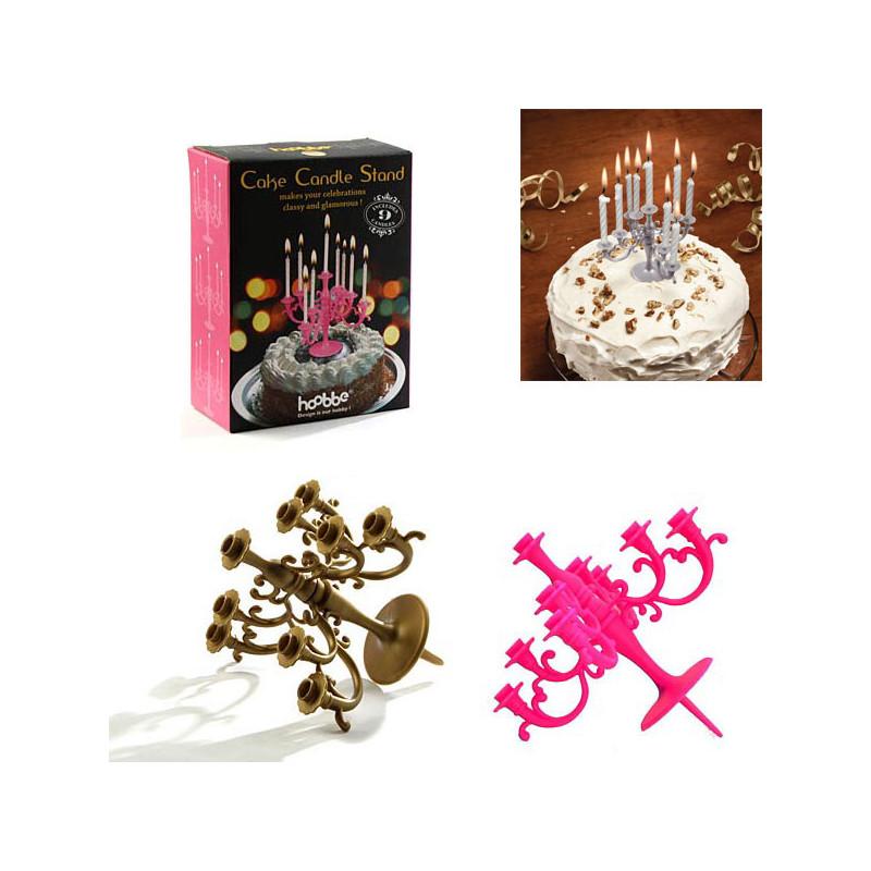 chandelier pour bougies d 39 anniversaire cadeau. Black Bedroom Furniture Sets. Home Design Ideas