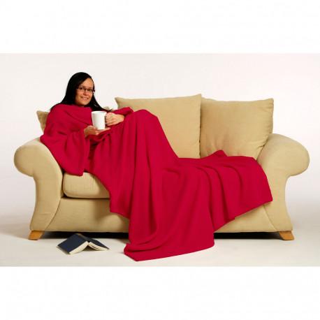Le Snug Rug est une gigantesque couverture de laine polaire avec… des manches intégrées !