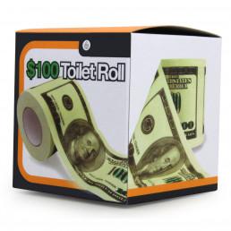 Papier Toilette 100 Dollars