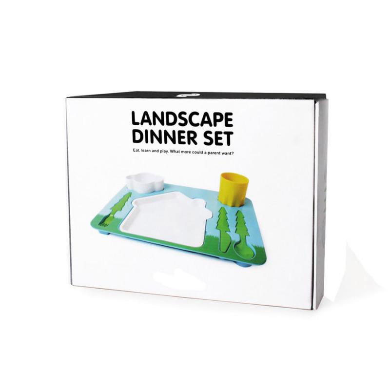 plateau repas enfant paysage cadeau enfant insolite et original sur logeekdesign. Black Bedroom Furniture Sets. Home Design Ideas