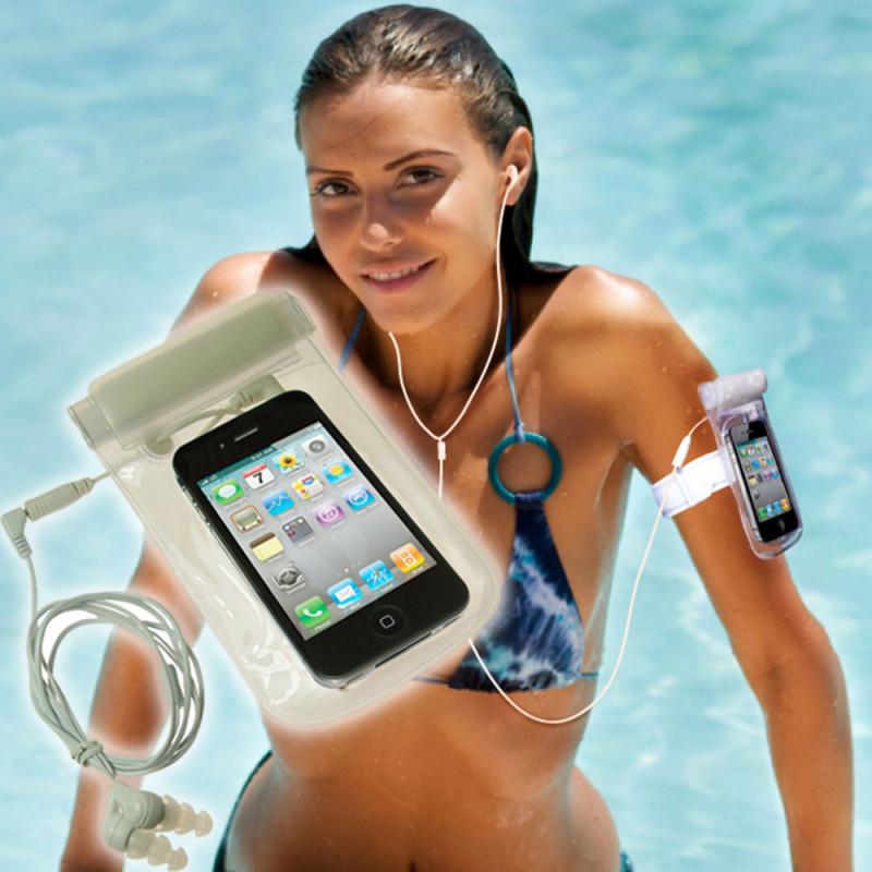 Gardez votre iPod ou lecteur Mp3 à l'abri de l'eau, du sable et de la saleté avec cet étui étanche so geek...